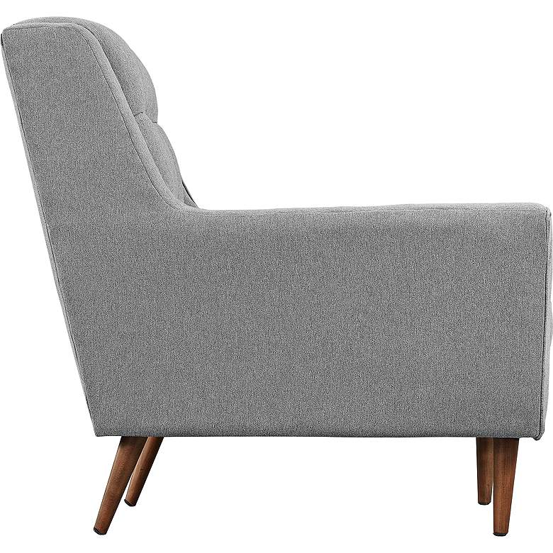 """Response 89"""" Wide Expectation Gray Tufted Modern Sofa more views"""