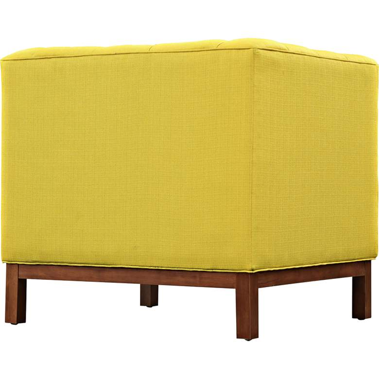 Panache Sunny Fabric Tufted Armchair more views