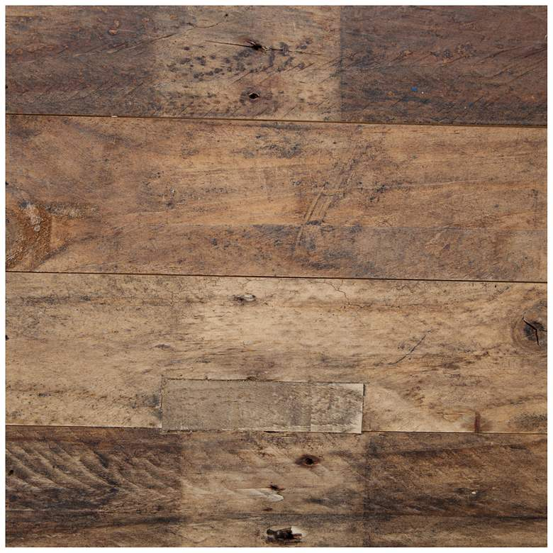 "Cascade 80"" Wide Rustic Reclaimed Wood Sideboard more views"