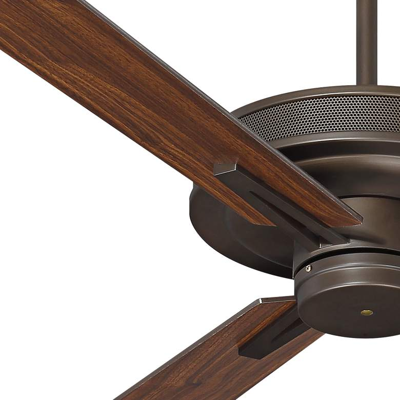 "60"" Taladega Oil-Rubbed Bronze Finish Damp Rated Ceiling Fan more views"