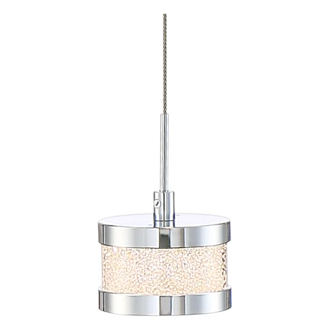 "Possini Euro Liv 19 3/4"" Wide Chrome LED Multi Light Pendant"