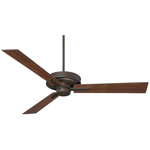 "60"" Taladega Oil-Rubbed Bronze Finish Damp Rated Ceiling Fan"