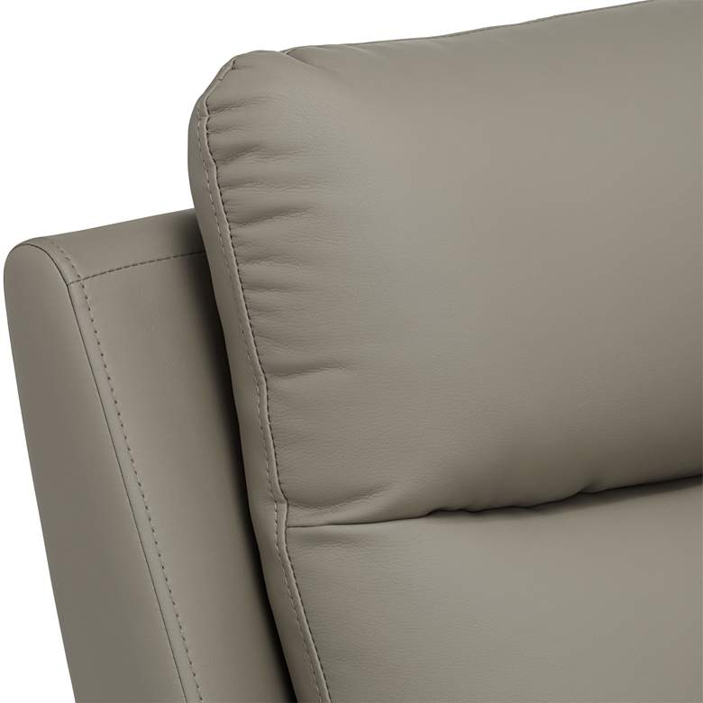 Newport Taupe Recliner Chair more views