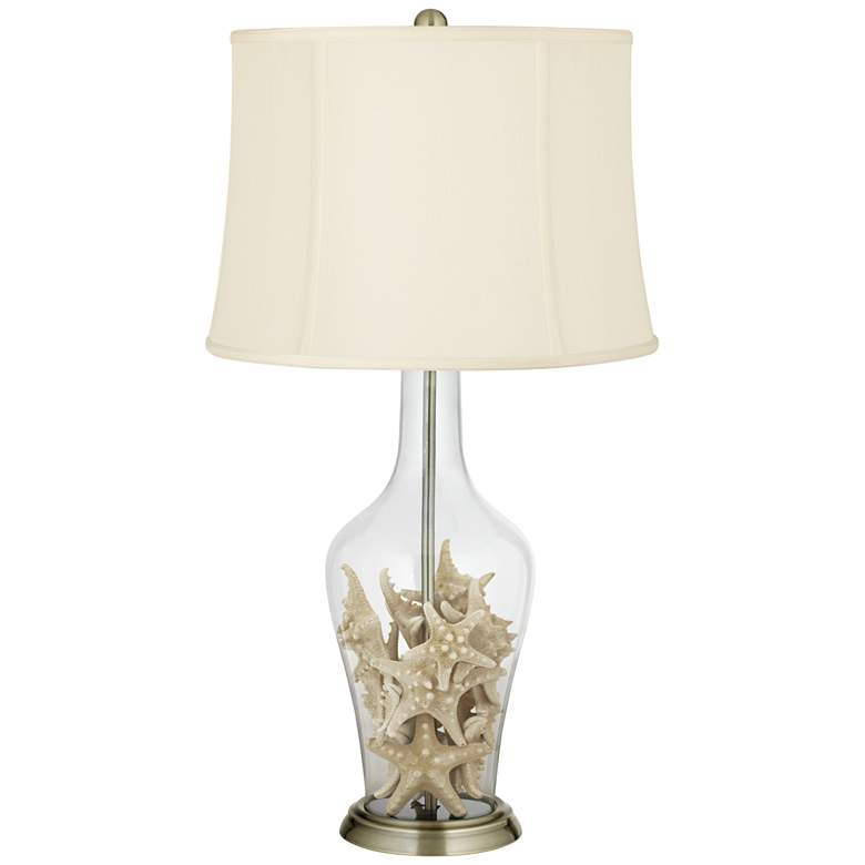 Clear Glass Fillable Anya Table Lamp more views
