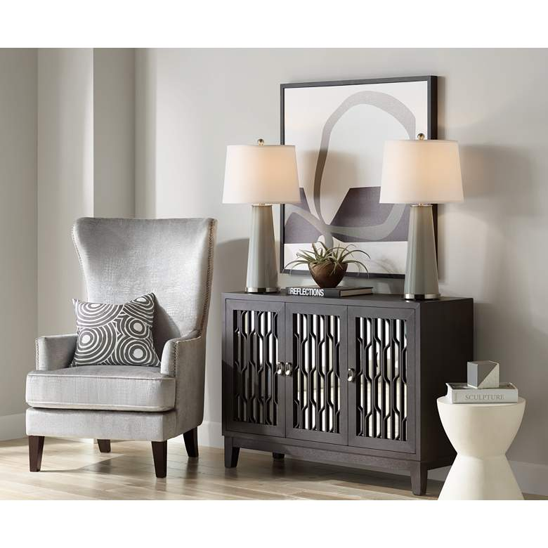 Gauntlet Gray Leo Table Lamp Set of 2 more views