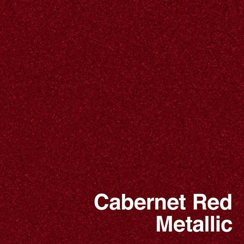 Cabernet Red Metallic Leo Table Lamp Set of 2 more views