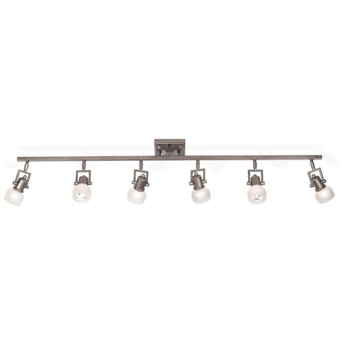 "Pro Track® Chace 50"" Wide 6-Light Complete LED Track Kit"