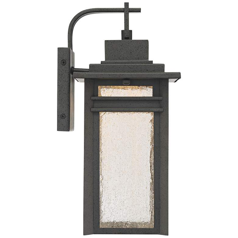 "Quoizel Beacon 14 3/4"" High Black LED Outdoor Wall Light more views"