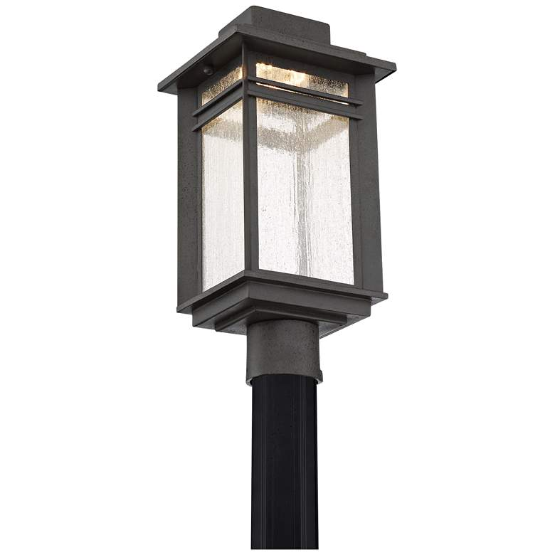 "Quoizel Beacon 18 3/4"" High Black LED Outdoor Post Light more views"