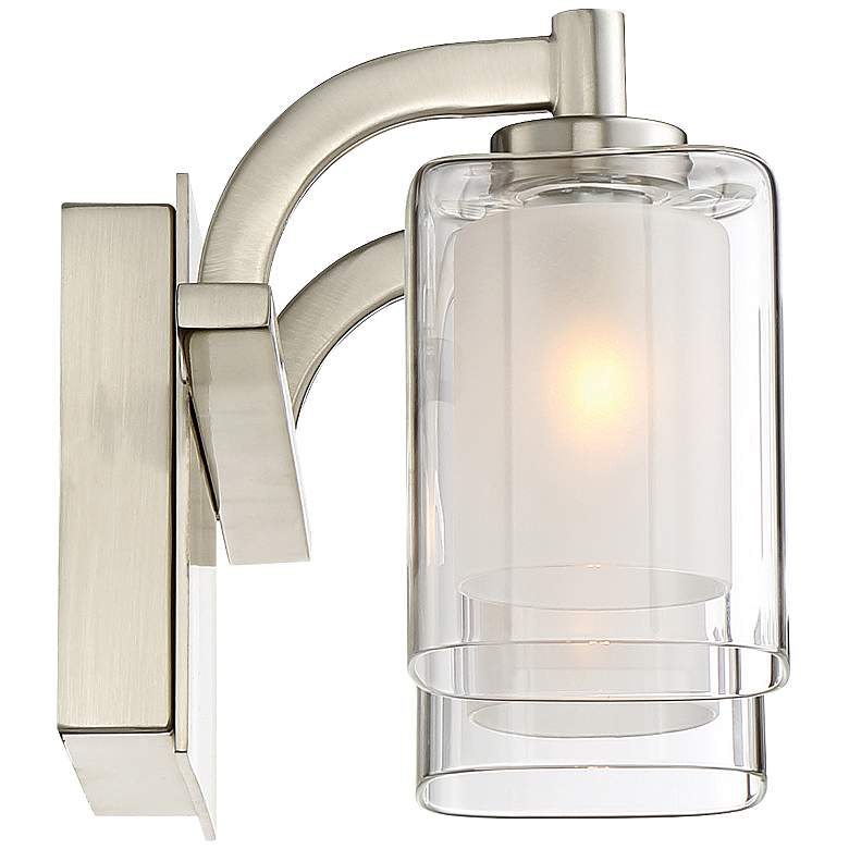"Quoizel Kolt 6"" High Brushed Nickel LED Wall Sconce more views"
