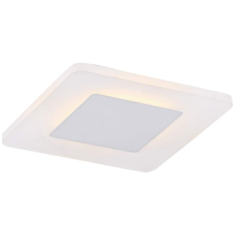 "Platinum Collection Aglow 11"" Wide White LED Ceiling Light more views"