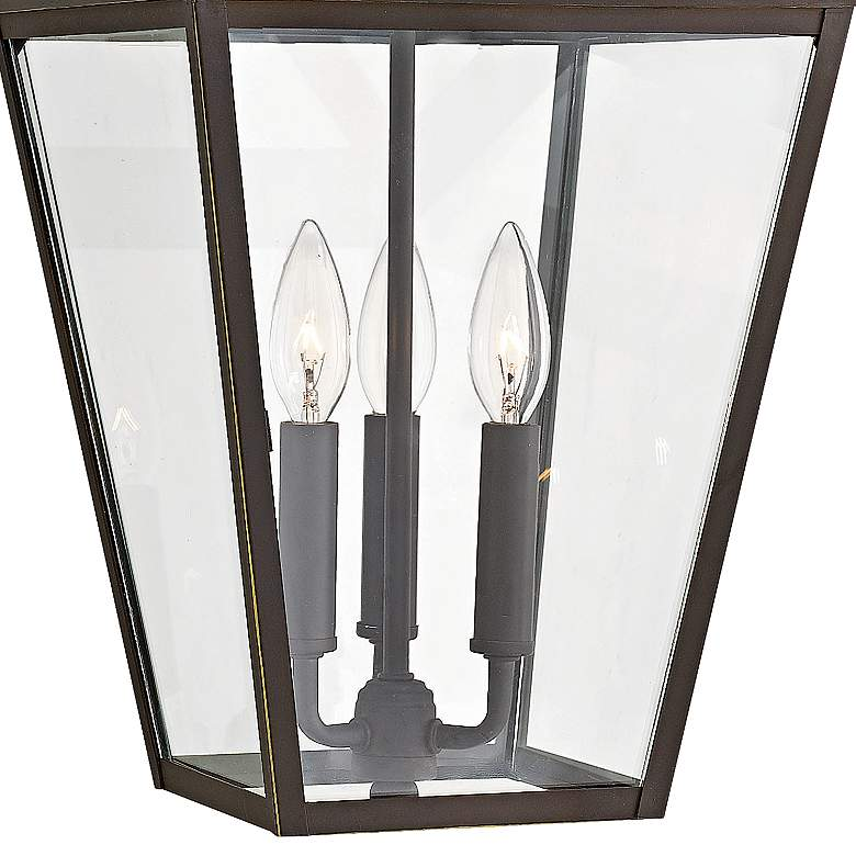 "Alford Place 19 1/2""H Rubbed Bronze Outdoor Hanging Light more views"