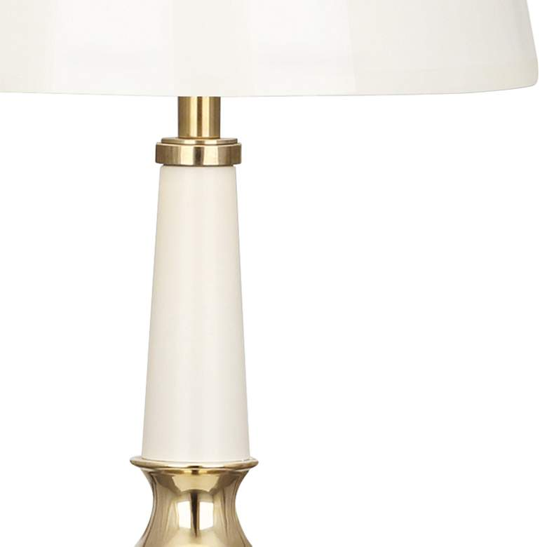 Versailles Lily White Ceramic Table Lamp more views