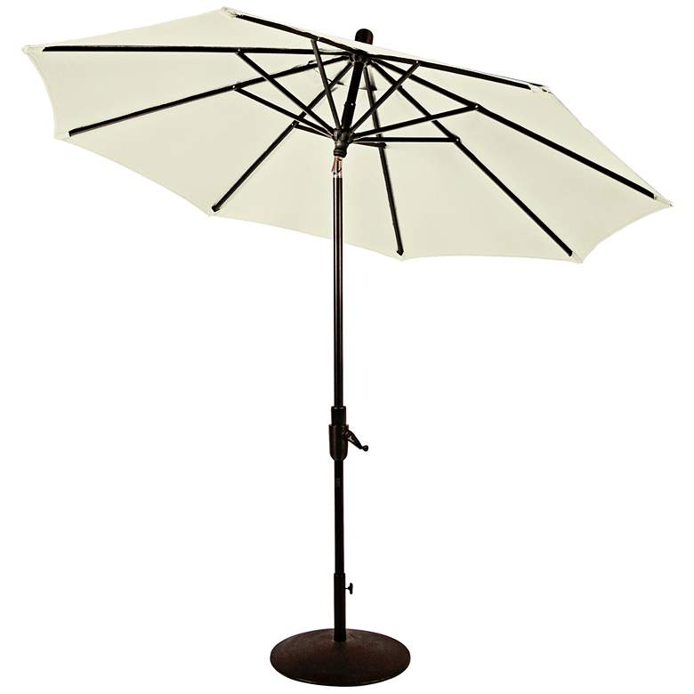 Zuma Shore 8 3/4-Foot Natural Sunbrella Patio Umbrella more views