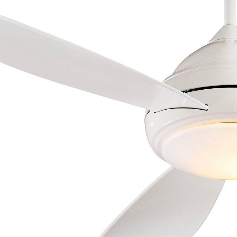 "52"" Concept I White LED Ceiling Fan more views"