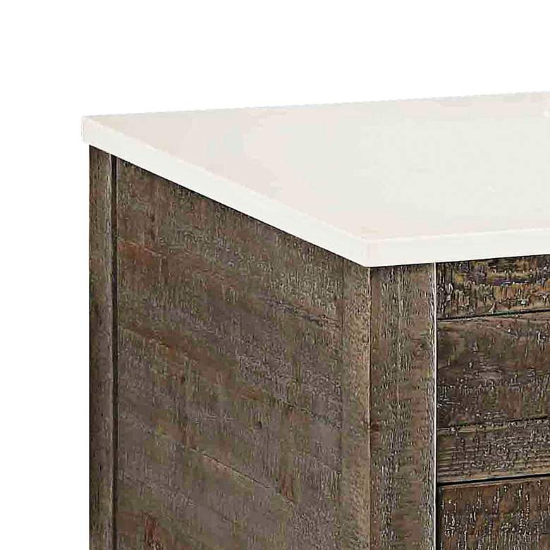 "Crosett Cayhill 36"" Wide Cultured Marble Sink Vanity more views"