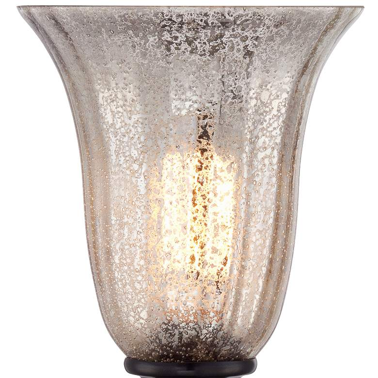 "Isaac Mercury Glass 13"" High Accent Table Lamp more views"