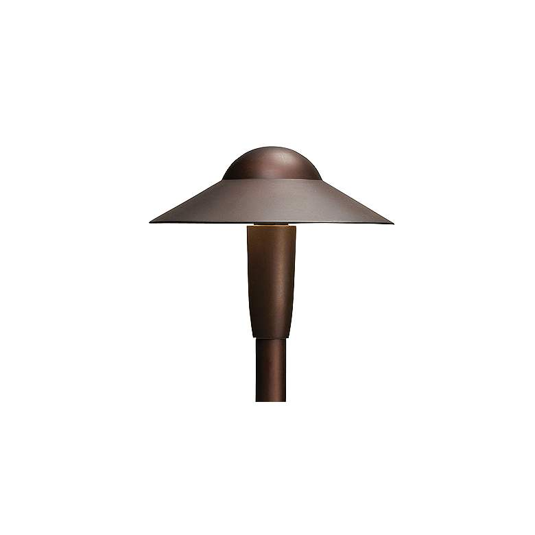 "Kichler 22"" High 2700K LED Bronze 6"" Dome Path Light more views"