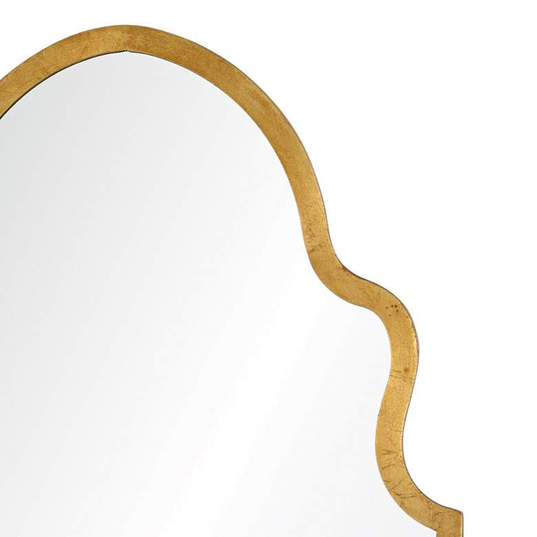 "Cooper Classics Lincoln Gold 20"" x 37 3/4"" Wall Mirror more views"
