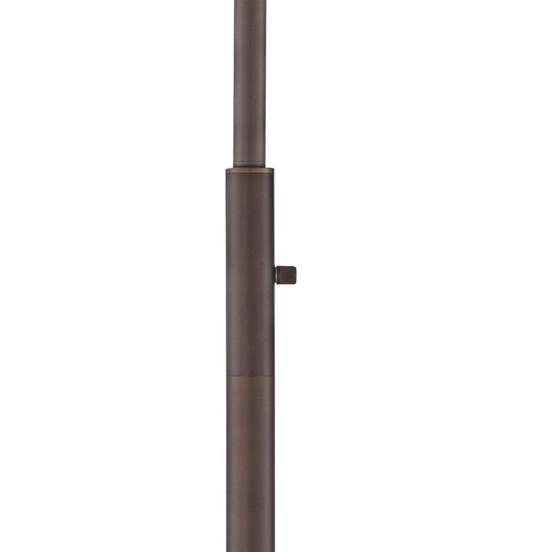 Averill Park Industrial Downbridge Bronze Floor Lamp more views