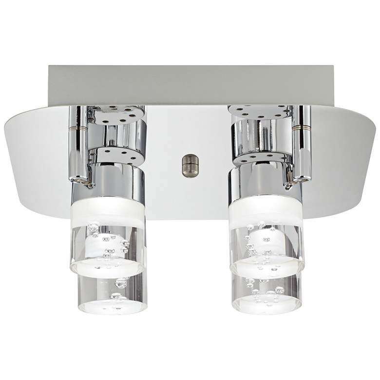Pro Track® Linda Square Chrome LED Track Fixture more views