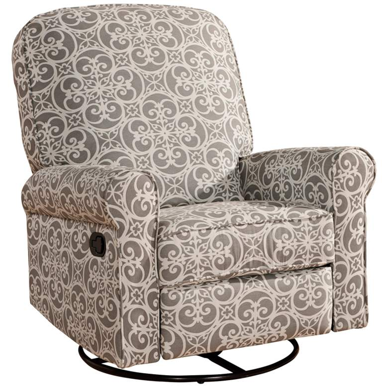 Ashewick Ash Doodles Fabric Swivel Rocker Glider-Recliner more views