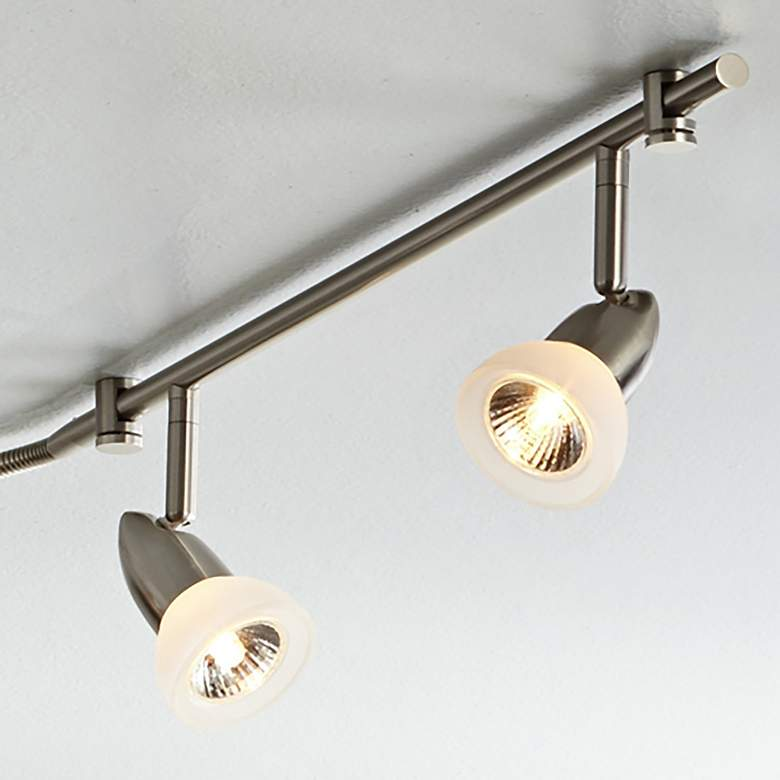 Pro Track Flex Rave LED 6-Light Satin Chrome Track Fixture more views