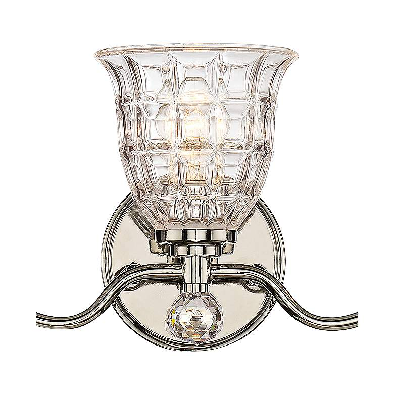 "Savoy House Birone 24""W 3-Light Polished Nickel Bath Light more views"