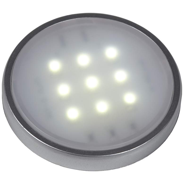 4-Light 4000k LED Puck Light Kit with Remote Control more views