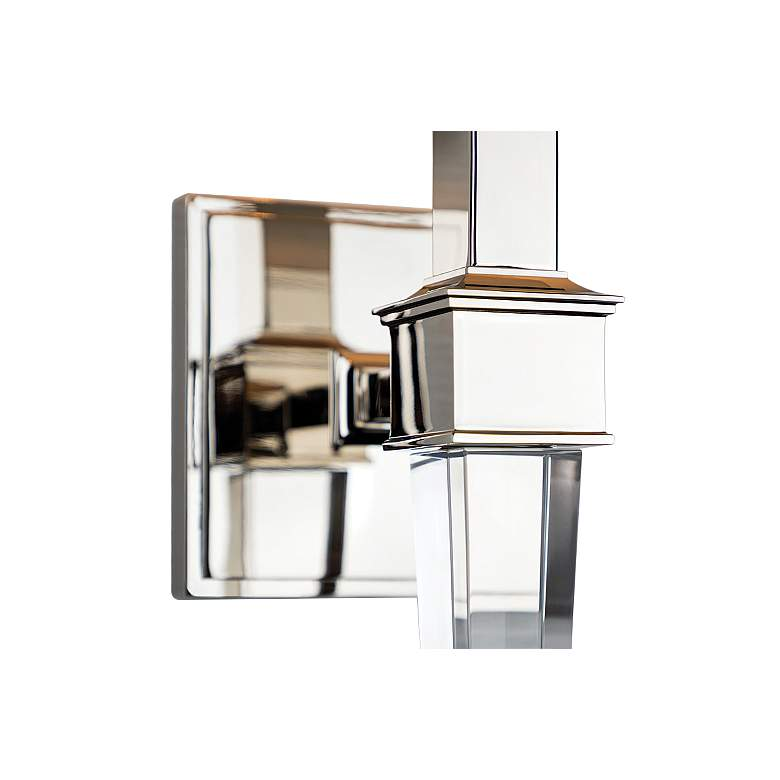 "Hudson Valley Ruskin 20 1/2""H Polished Nickel Wall Sconce more views"