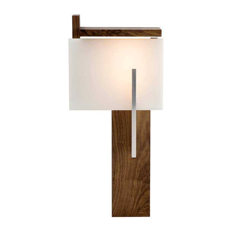 "Cerno Oris 24"" High Natural Walnut LED Wall Sconce more views"