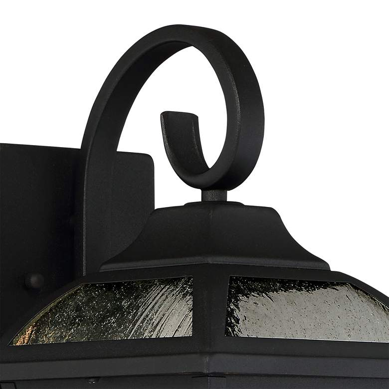 "Mosconi 15"" High Black Outdoor Wall Lights Set of 2 more views"