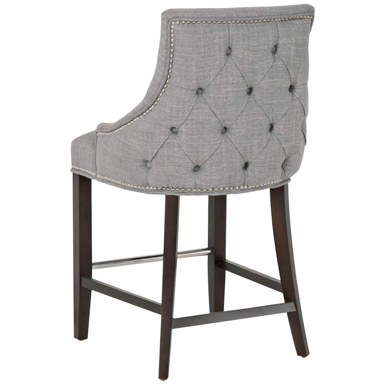 "Villa Avenue 26"" Smoke Gray Counter Stool more views"