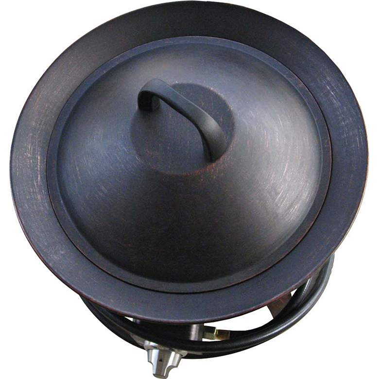 Aurora Rubbed Bronze Gas Powered Bowl Fire Pit more views