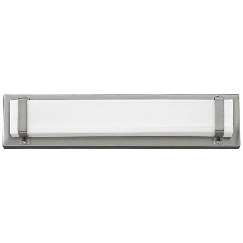 "Hinkley Tremont 16"" Wide Brushed Nickel LED Bath Light more views"