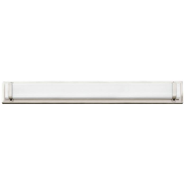 "Hinkley Tremont 29 1/2""W Polished Nickel 2-LED Bath Light more views"