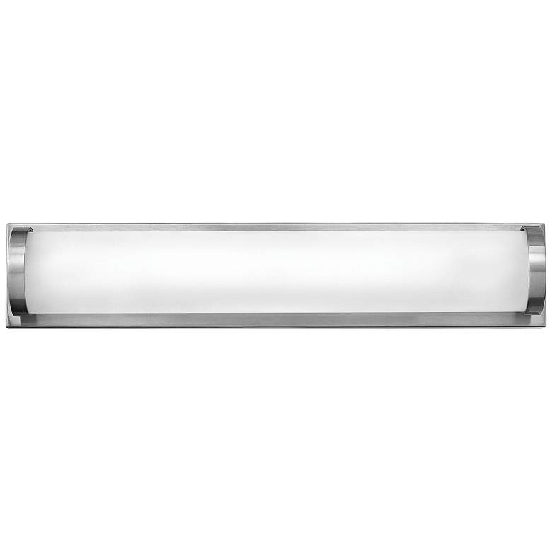 "Hinkley Acclaim 16"" Wide Brushed Nickel LED Bath Light more views"