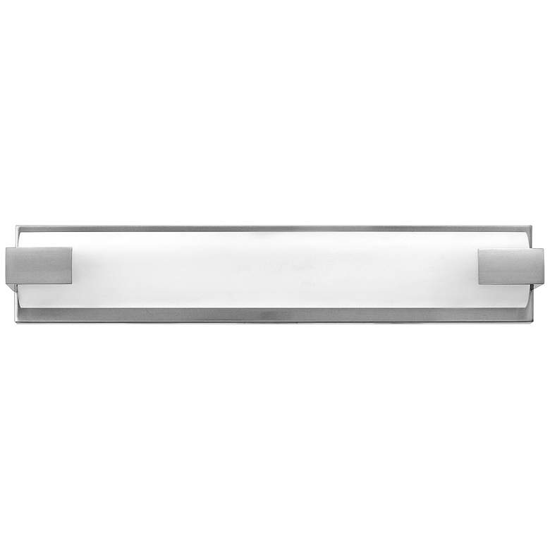 "Hinkley Unity 16"" Wide Brushed Nickel LED Bath Light more views"