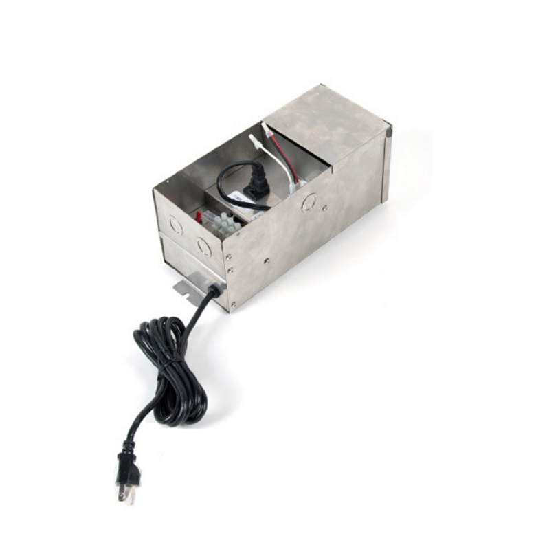 WAC Landscape Stainless Steel 75W Magnetic Transformer more views