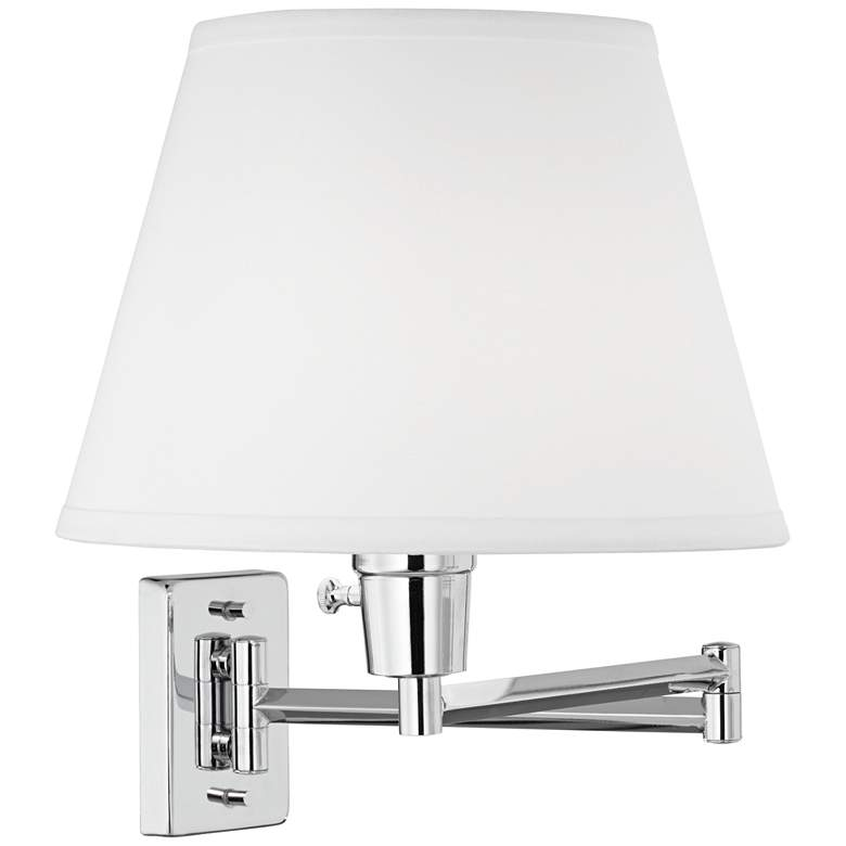 Clement Chrome Swing Arm Wall Lamp Set of 2 more views