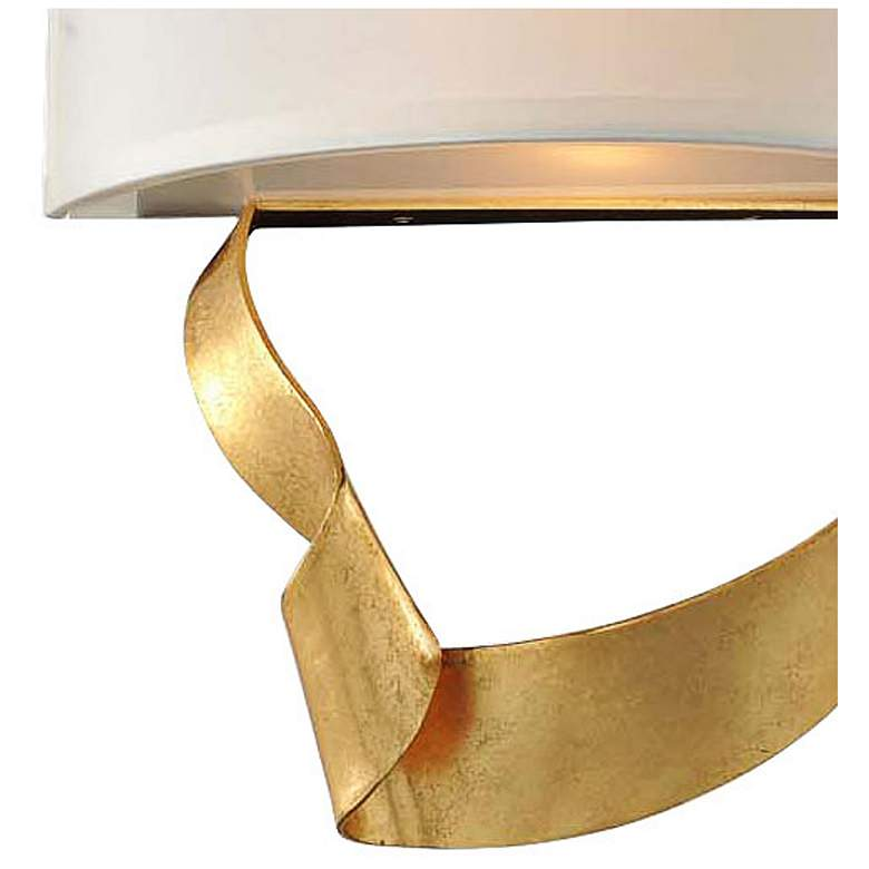 "Avalon 12"" High Roman Gold 2-Light Left Wall Sconce more views"