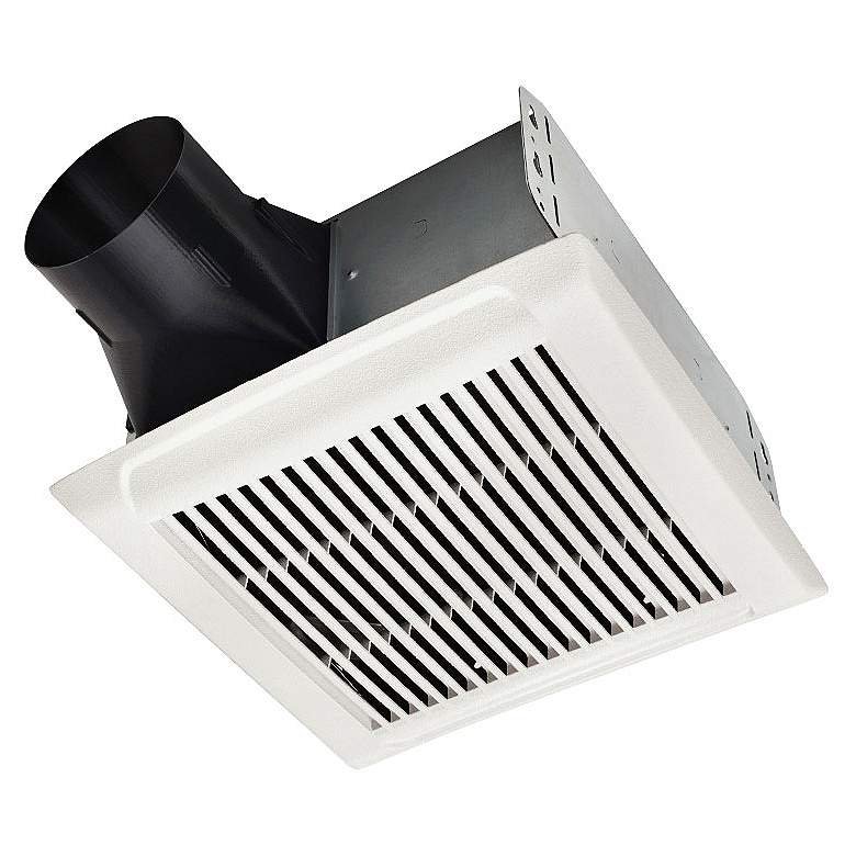 Broan InVent White 80 CFM 0.8 Sones Bath Ventilation Fan more views