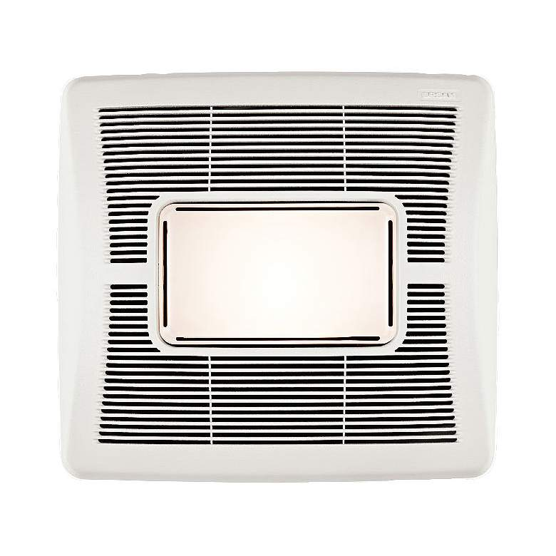Broan InVent White 70 CFM 2.0 Sones Bath Fan with Light more views