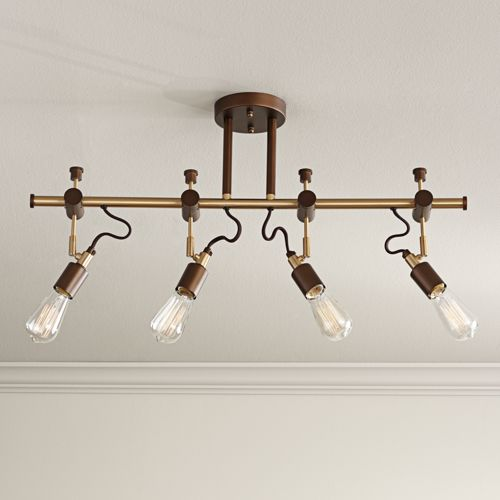 Pro Track Henning 4-Light Oil-Rubbed Bronze Track Fixture