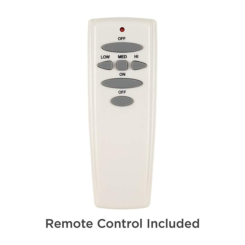 "32"" Vintage Breeze™ DC Bronze-Black Cage Ceiling Fan more views"