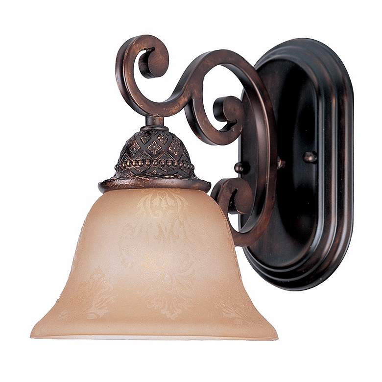 Symphony Oil Rubbed Bronze Finish Wall Sconce more views