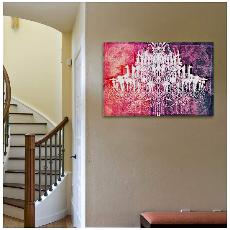 "Oliver Gal Ethereal Vision 15"" Wide Reversed Canvas Wall Art more views"