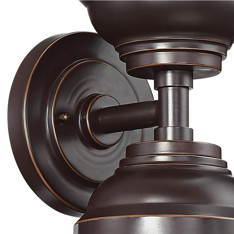 "Marlowe 22 1/2"" High Bronze Two-Light Outdoor Wall Light more views"