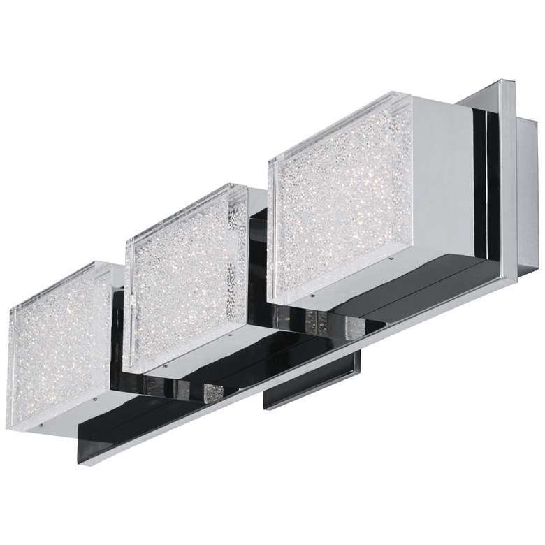 "ET2 Pizzazz LED 22 3/4"" Wide Polished Chrome LED Bath light more views"