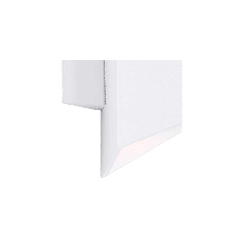 "ET2 Alumilux AL 8 1/2"" High White LED Outdoor Wall Light more views"